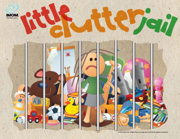 Little Clutter Jail: Clutterjail, Kids Learning, Good Ideas, Younger Kids, Encouragement Kids, Clutter Jail, Messy Kids, Free Printable, Toys Jail