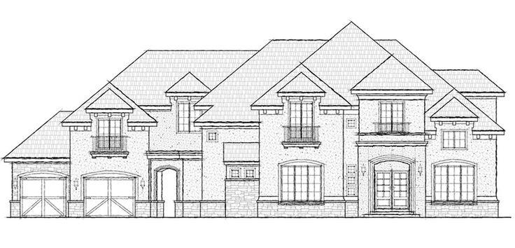17 best images about house plans on pinterest luxury for Cul de sac house plans