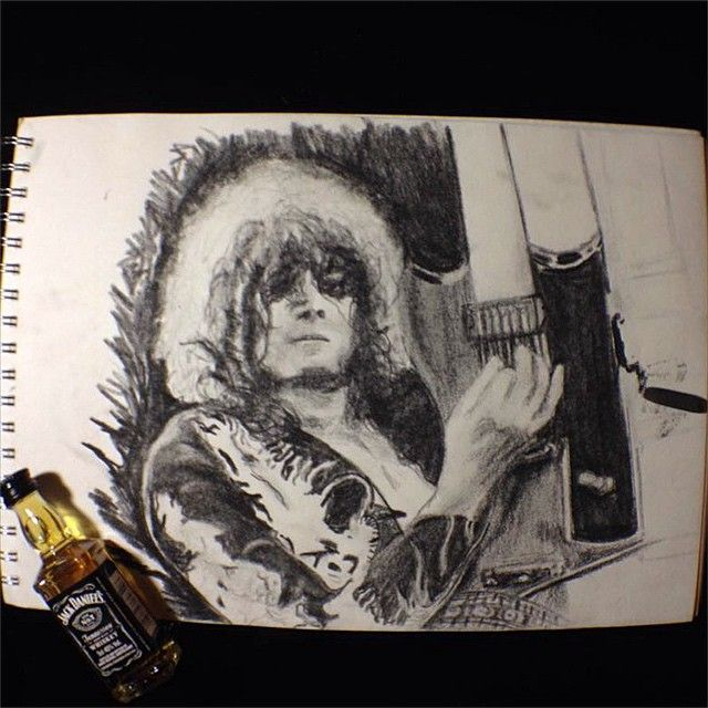It's been a long time since the book of #love #rock #ledzeppelin #draw #art…