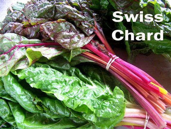 Fall and Winter greens are sweeter than their summer counterparts.  Grow swiss chard under low tunnels for a taste of spring in winter.  Simple vegetable recipe