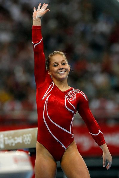 Shawn Johnson.  Gonna miss watching her.... I'm excited to see her on Dancing with the Stars: All Stars