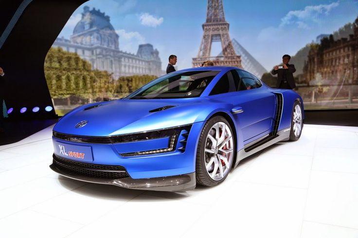 Cool Volkswagen XL Sport Paris Motor Show 2014 Wallpaper