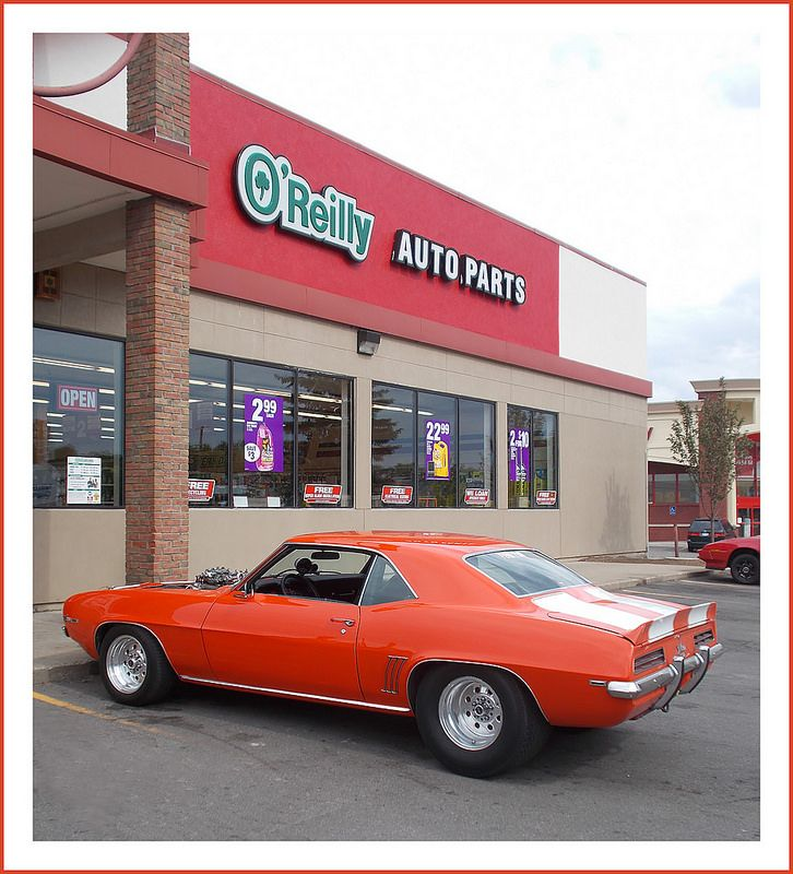 1969 chevrolet camaro at oreilly auto parts
