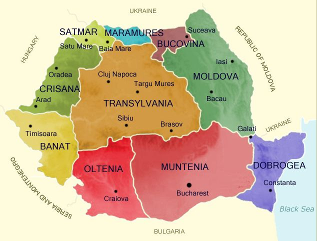 Best Romania Map Ideas On Pinterest Romania Tourism - Romania map