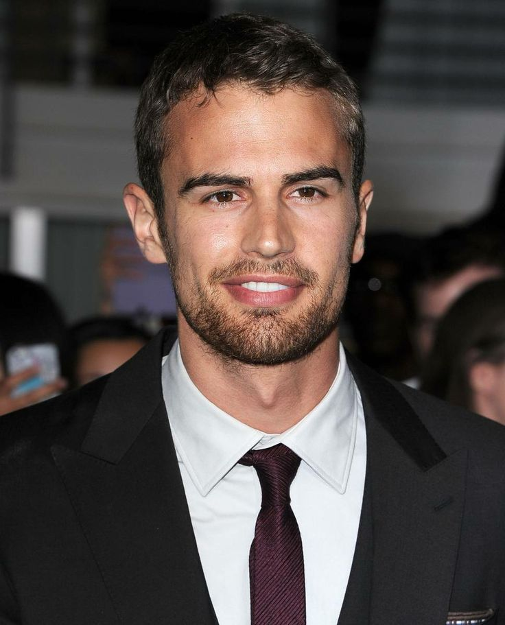 Male Gaze: Theo James, Former Boy-Band Member