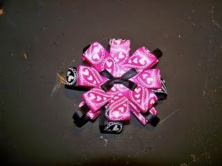 Fancy bows tutorial--like the flowers, these can be attached to purses, shoes, necklaces, etc.