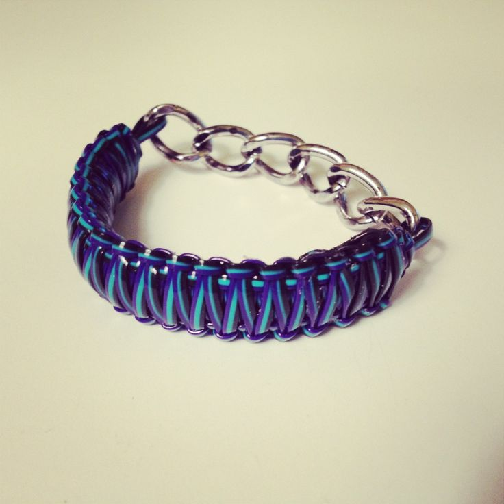 The Craft Caboodle: Craft Lace Chain Bracelet