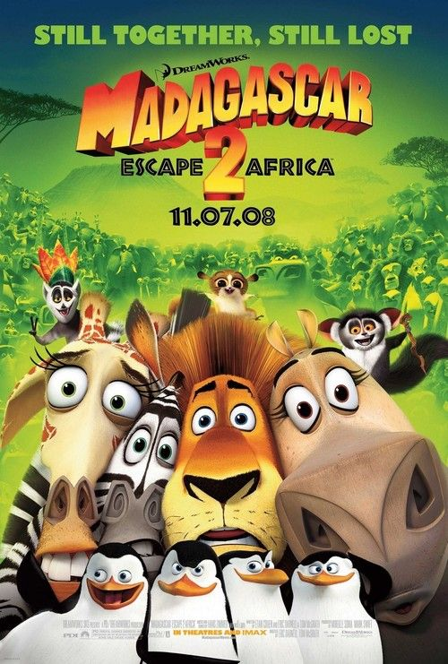 Watch Madagascar: Escape 2 Africa (2008) Full Movie Online Free