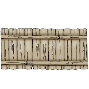 Wooden fence            Art Impressions stamps      $10.06 unmounted on cushion