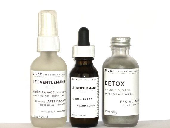MEN SPA Gift. Organic. Essential Skin Care Set. Beard Serum. After-Shave. Facial Mask. Boyfriend Gift. Father Gift. Gift Wrapping