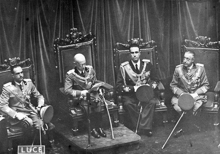 Vittorio Emanuele III inaugura il Parlamento Italiano