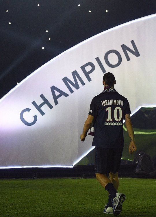 Ibrahimovic - Champion