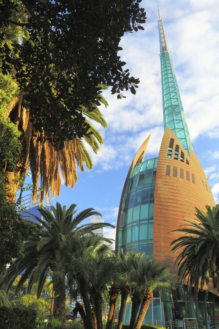 Bell Tower in Perth, #Australia