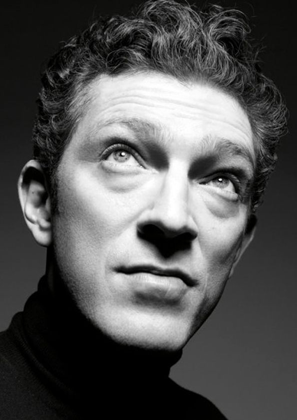♂ Black & white man portrait Vincent Cassell