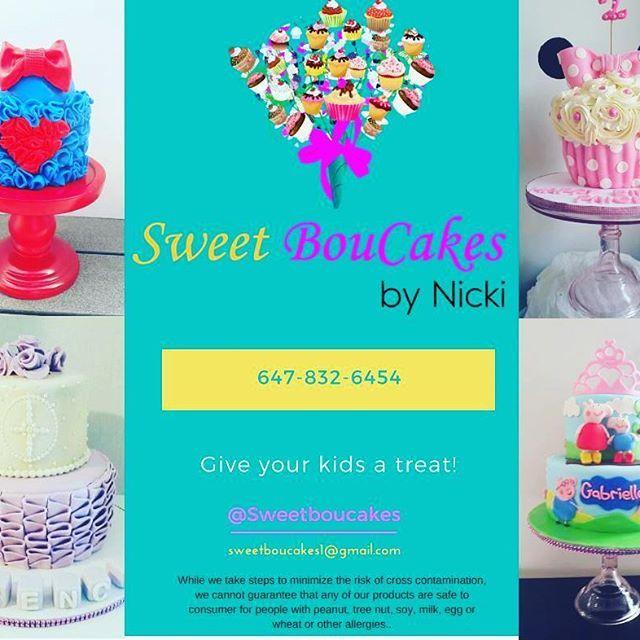 Kiddies & Kakes   #kidscakes  #sweettreat #tdot #mississauga #bramptoncakes