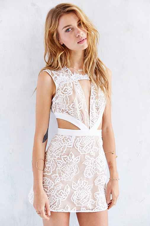 Stylestalker Kiss Me Baby Lace Cutout Dress - Urban Outfitters $179.00  birthday dress?