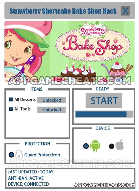 Strawberry Shortcake Bake Shop Cheats, Hack, & Tips for All Desserts & All Tools Unlock  #BakeShop #Popular #Strategy #StrawberryShortcake http://appgamecheats.com/strawberry-shortcake-bake-shop-cheats-hack-tips/