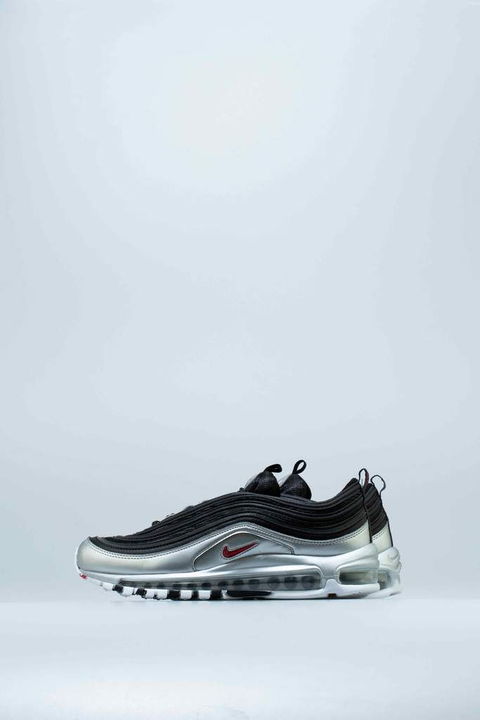 29c3be65a2 AIR MAX 97 QS METALLIC PACK MENS SHOE - WHITE/VARSITY RED/METALLIC SILVER/ BLACK