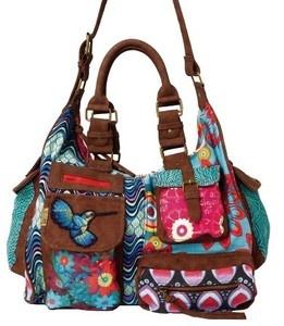 Gran NUEVA hombro bolsa bolsa bolso DESIGUAL Bols LONDRES Kaitlin color turquesa