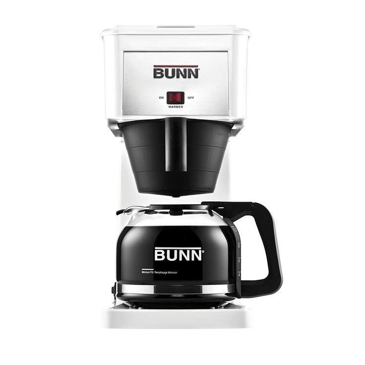 BUNN GRW Velocity Brew 10-Cup Home Coffee Brewer, White Best Price. BUNN GRW Velocity Brew 10-Cup Home Coffee Brewer, White -Blends 4 to 10 containers (20 to 50 oz.) in around 3 minutes.  -New Pour-O-Matic Drip Free Glass Decanter.  -Remarkable sprayhead guarantees even, total espresso enhance extraction.  -Stainless steel interior high temp water tank keeps water warmed to ideal fermenting temperature of 200 Degree F.  -3-year restricted guarantee.  -One of a kind sprayhead guarantees even…