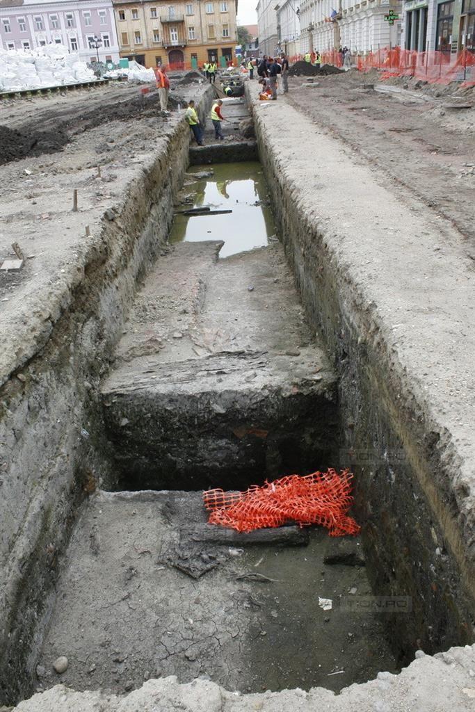 Cele mai importante descoperiri arheologice din Piata Unirii