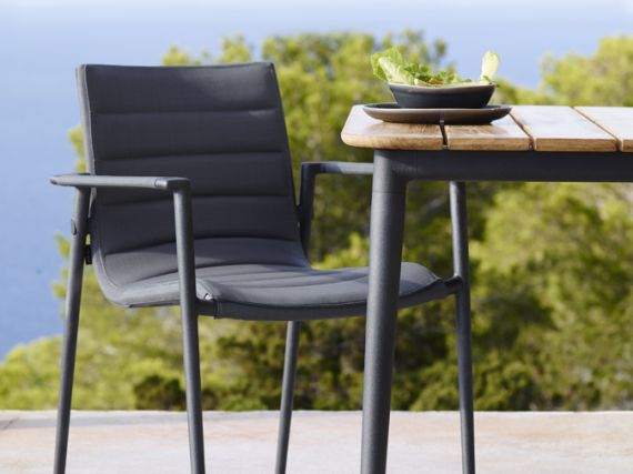 CORE - DINING ARM CHAIR + DINING TABLE