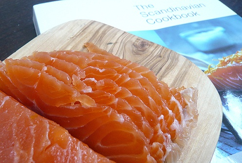 The Scandinavian Cookbook - home cured salmon