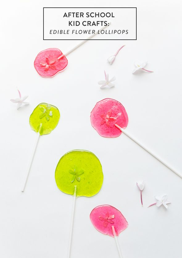 how to make lollipops with edible images