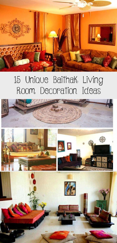 15 Unique Baithak Living Room Decoration Ideas ...