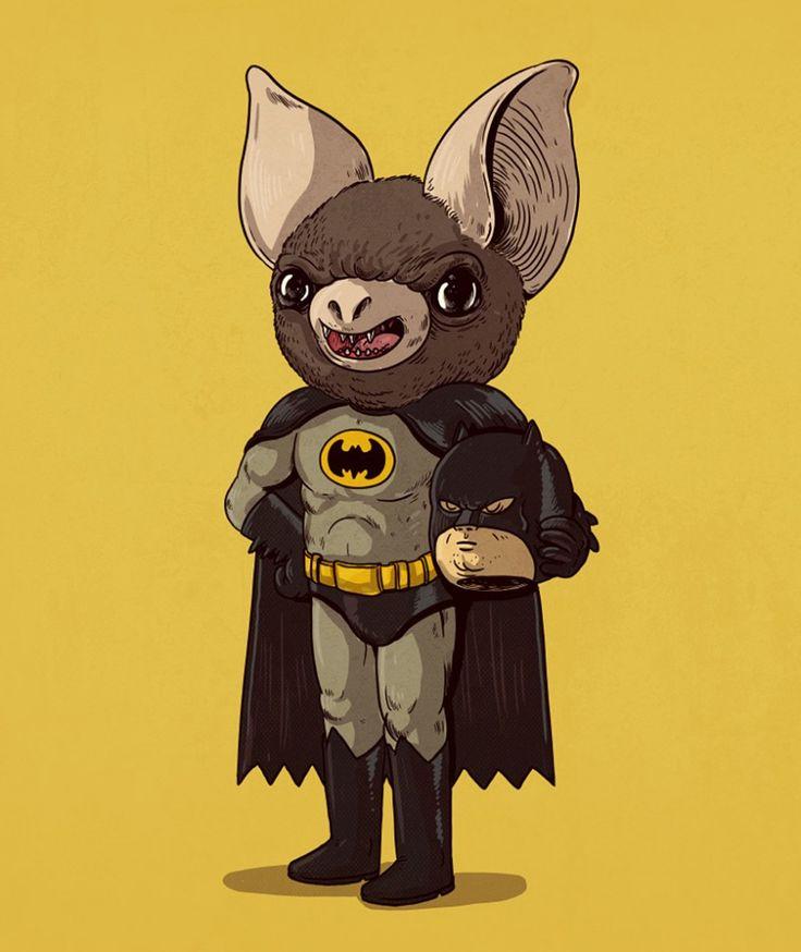 16 ilustraciones de personajes debajo de las máscaras