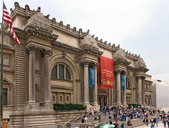 Going to the Met gives me a pick-me-up.  (Partially all the art, partially because it's FREEZING and keeps me alert.)