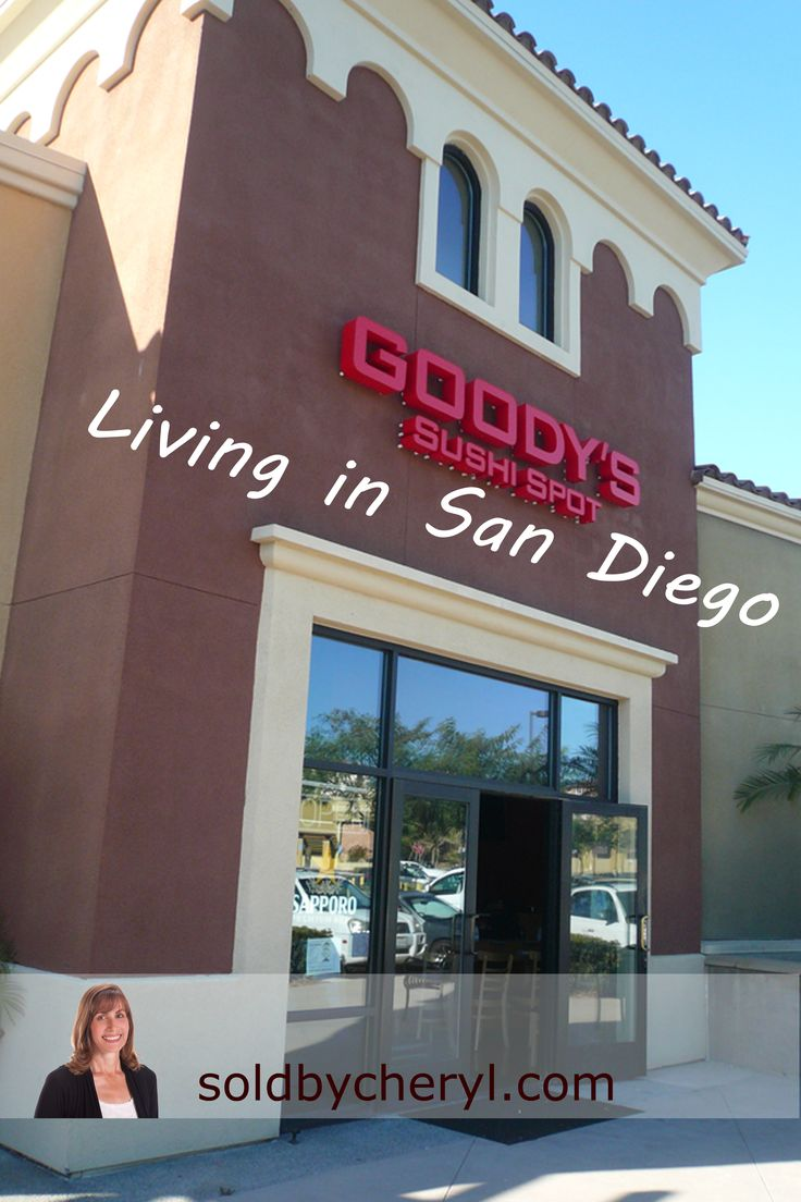 Goody's Sushi Shop, casual, contemporary Japanese restaurant serving sushi & more in the Shops at San Miguel Ranch. #livinginsandiego #goodyssushi&grill