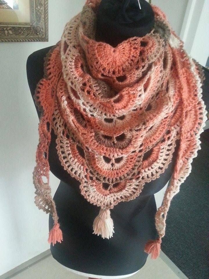 Crochet Virus Poncho : crochet virus shawl crochet head crochet ponchos 3 crochet crochet ...