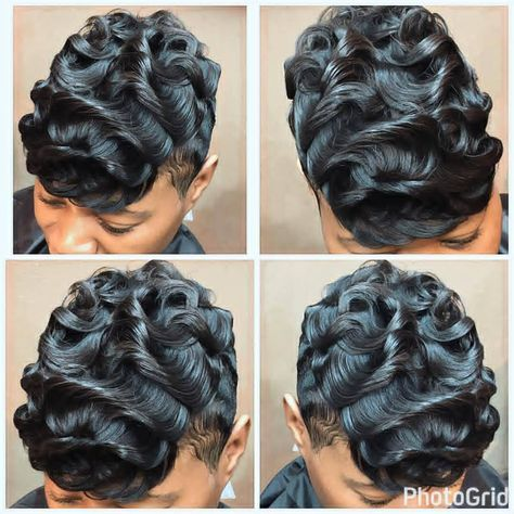 """850 Likes, 27 Comments - Style Q / Hotlanta Hair (@styleqhotlantahair) on Instagram: """"Waves in the water Style Q Showcasing the absolute best in beauty hair @hairfetishstudio #StyleQ…"""""""