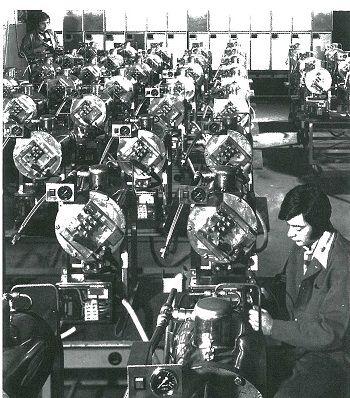 Druck-Steamer Produktion Salvis Flex-seal