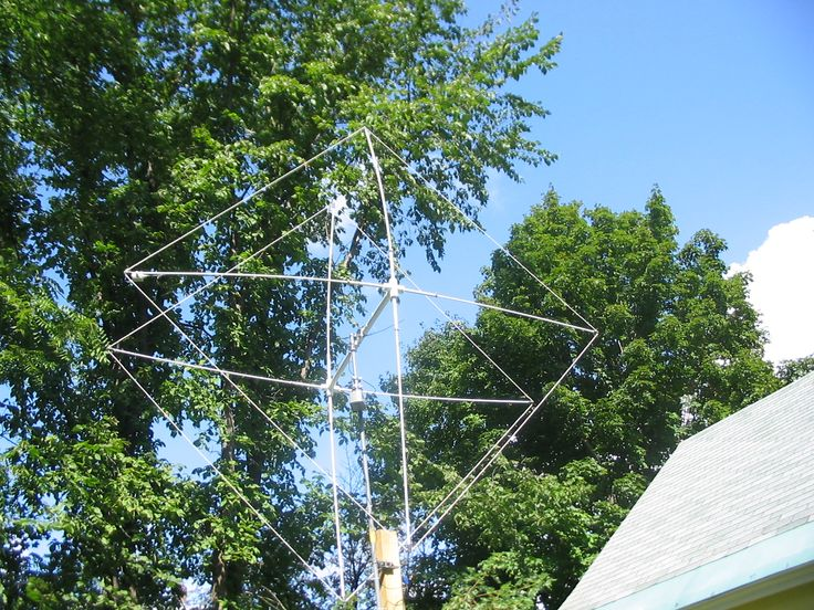 PVC Ham Radio Antenna  Click & read how he did this,  Clever Ham!