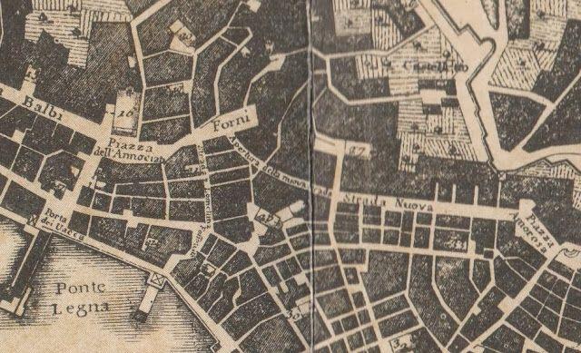 C'ERA UNA VOLTA GENOVA : Largo della Zecca e galleria Giuseppe Garibaldi