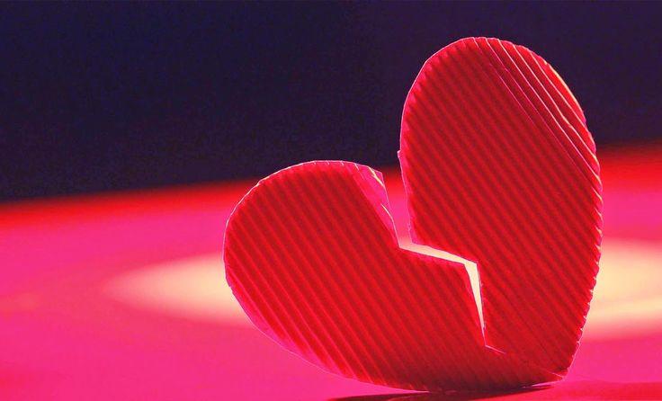 Au-delà des mots: Les coeurs brisés