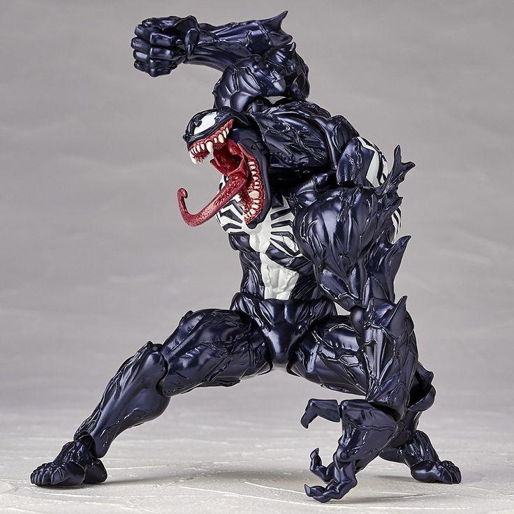 Amazon | figure complex AMAZING YAMAGUCHI VENOM ヴェノム 約175mm ABS&PVC製 塗装済みアクションフィギュア リボルテック | フィギュア・ドール 通販