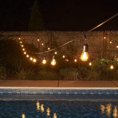 Extended Your Time In The Backyard Once The Sunu0027s Gone Down With Outdoor  Rope And String Lights. Here Are 5 Ways To Use Rope And String Lights  Outside:
