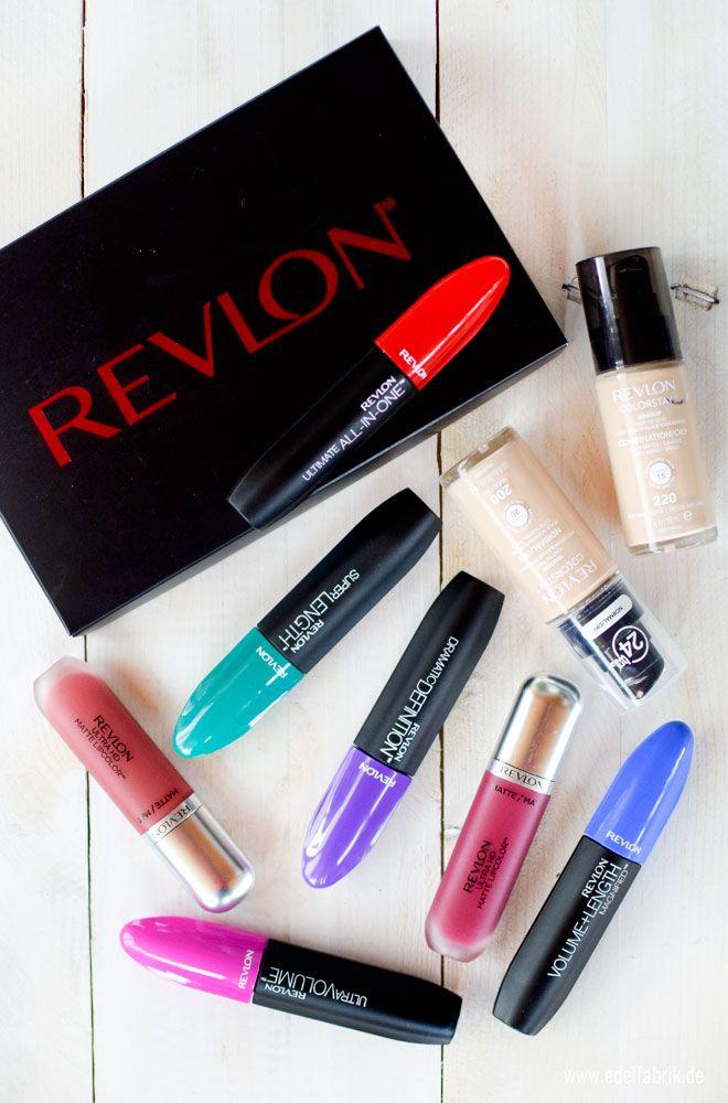 Revlon bei Rossmann / Wie gut sind die neuen Revlon Produkte / Swatches und Preise  #revlon #prsample #werbung #rossmann #review #mascara #makeup #foundation #mattelipcream #mattelippen