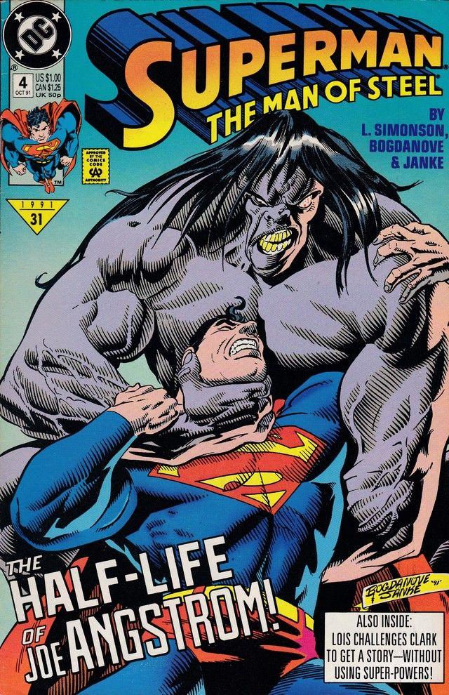 Superman The Man Of Steel 4 Dc Comics Superman Comic Books Man Of Steel Superman