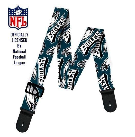 NFL Officially Licensed PHILADELPHIA EAGLES guitar strap collectors memorabilia #NFL #PhiladelphiaEagles