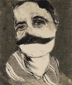 R B Kitaj - Portrait of Aby Warburg