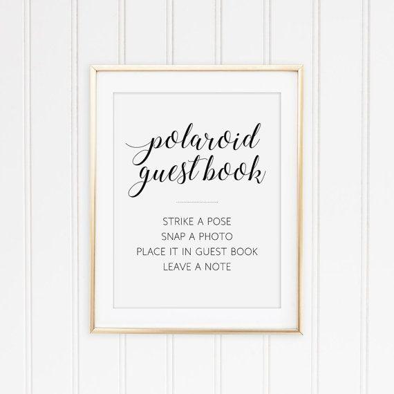 Photo Book Guest Book: Best 25+ Polaroid Guest Books Ideas On Pinterest