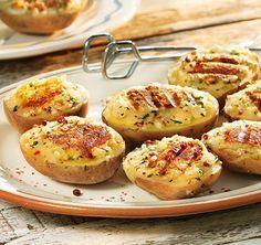Grillen    Gefüllte-Kartoffeln-mit-Mozzarella