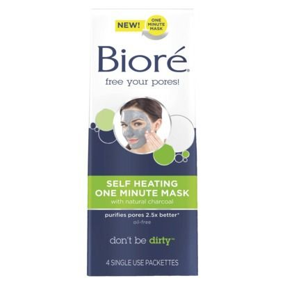 Biore Charcoal Self Heating Mask $6.50