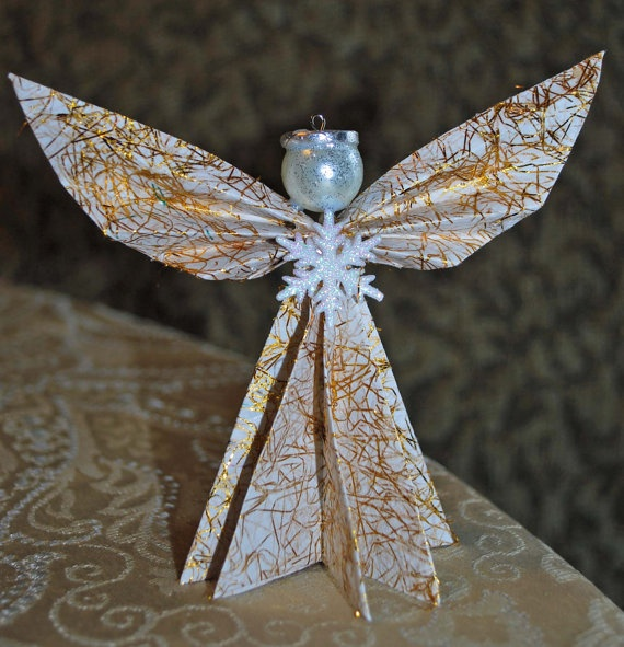 Origami Santa Ornament: 29 Best Images About Angels On Pinterest