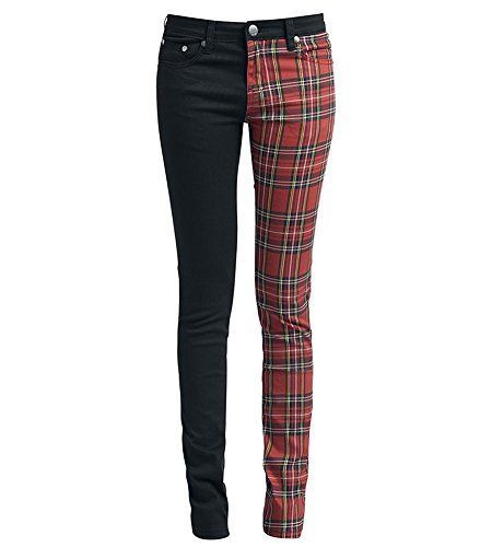 Dressation Womens Steampunk Style Stretch Plaid Skinny Je... https://www.amazon.com/dp/B00YCKJX3Y/ref=cm_sw_r_pi_awdb_x_J0Gvyb5M0ER1N