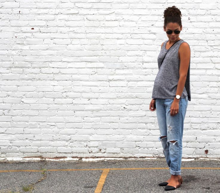 A LITTLE BIT OF LACQUER: Maternity Boyfriend Jeans